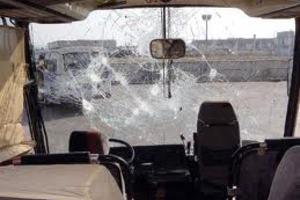 Επίθεση σε αστικό λεωφορείο